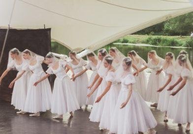 Балет «Жизель» в парке «Вальс цветов» в Демьяново