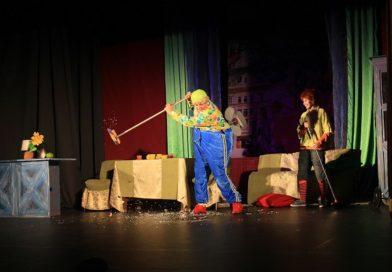 Спектакль артистов театра Вахтангова «Карлсон, который живет на крыше»