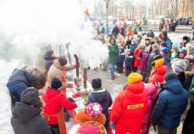 IV ежегодный фестиваль «Самоварное настроение» прошёл 6 февраля в Сестрорецком парке